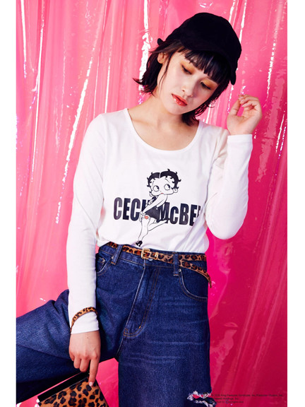 【Betty Boop™】ロンT