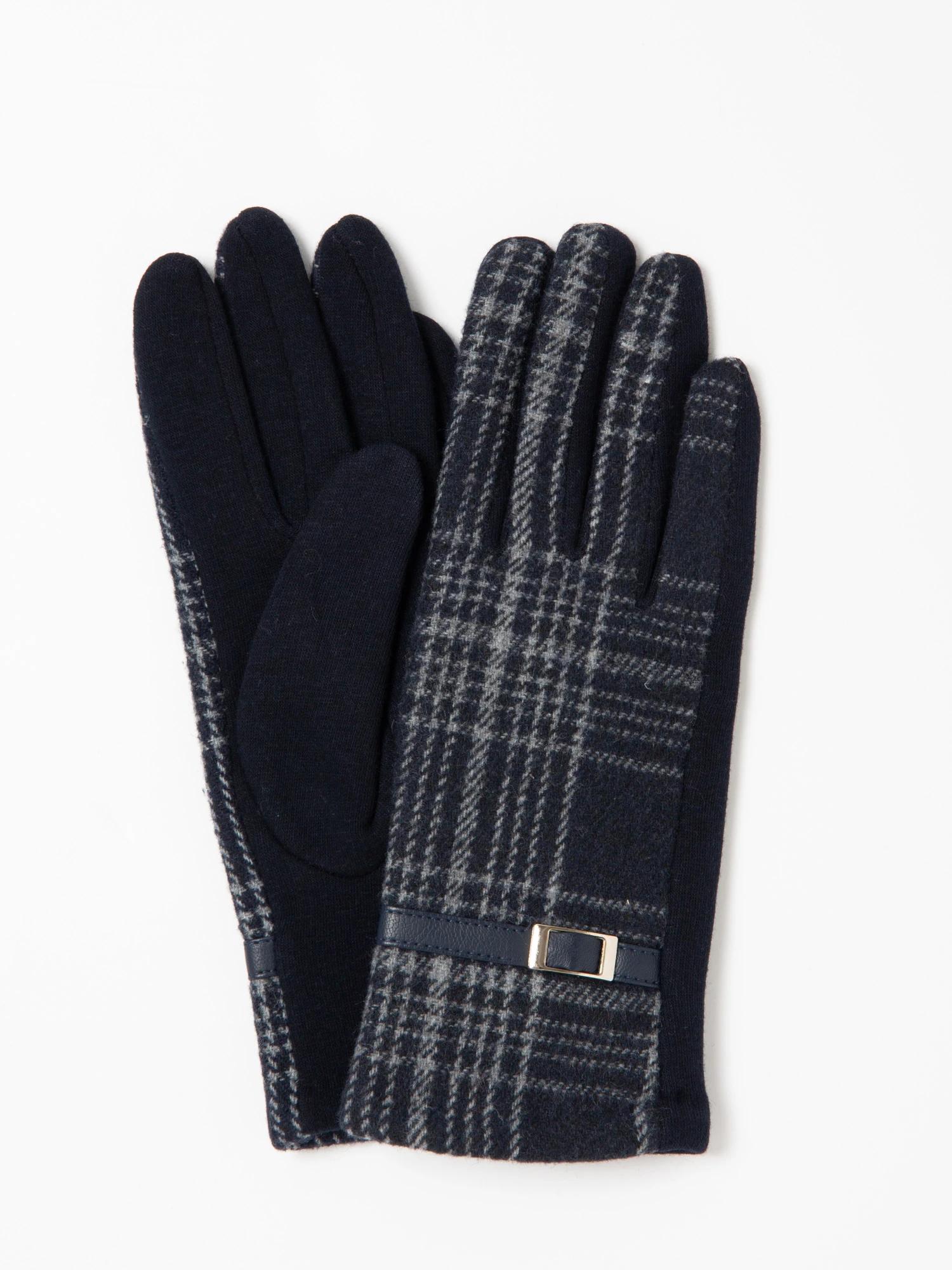 シンプルチェック手袋